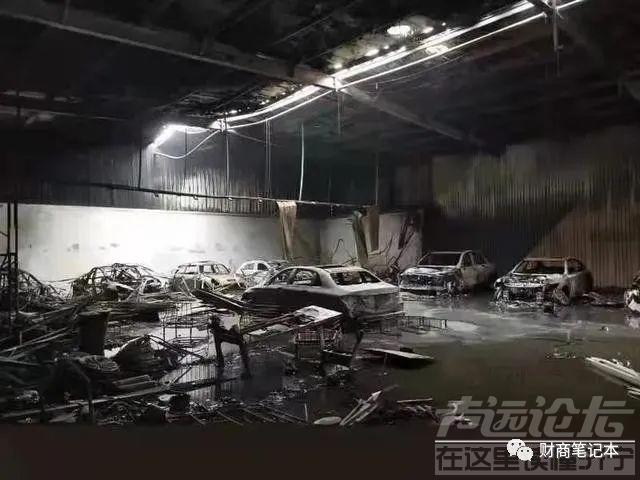 宜兴某汽车贴膜店着火,店内豪车悉数被毁,损失或超500万元-1.jpg