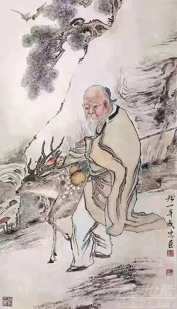 """成忠臣:当下的中国画死了,""""名利""""是罪魁祸首!-6.jpg"""