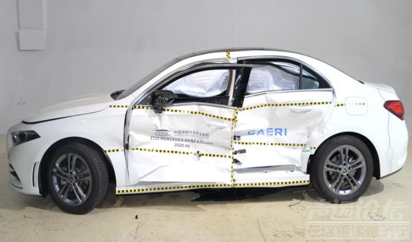 """中保研公布9款车型碰撞结果,奔驰A级表现""""出乎意料""""-4.jpg"""