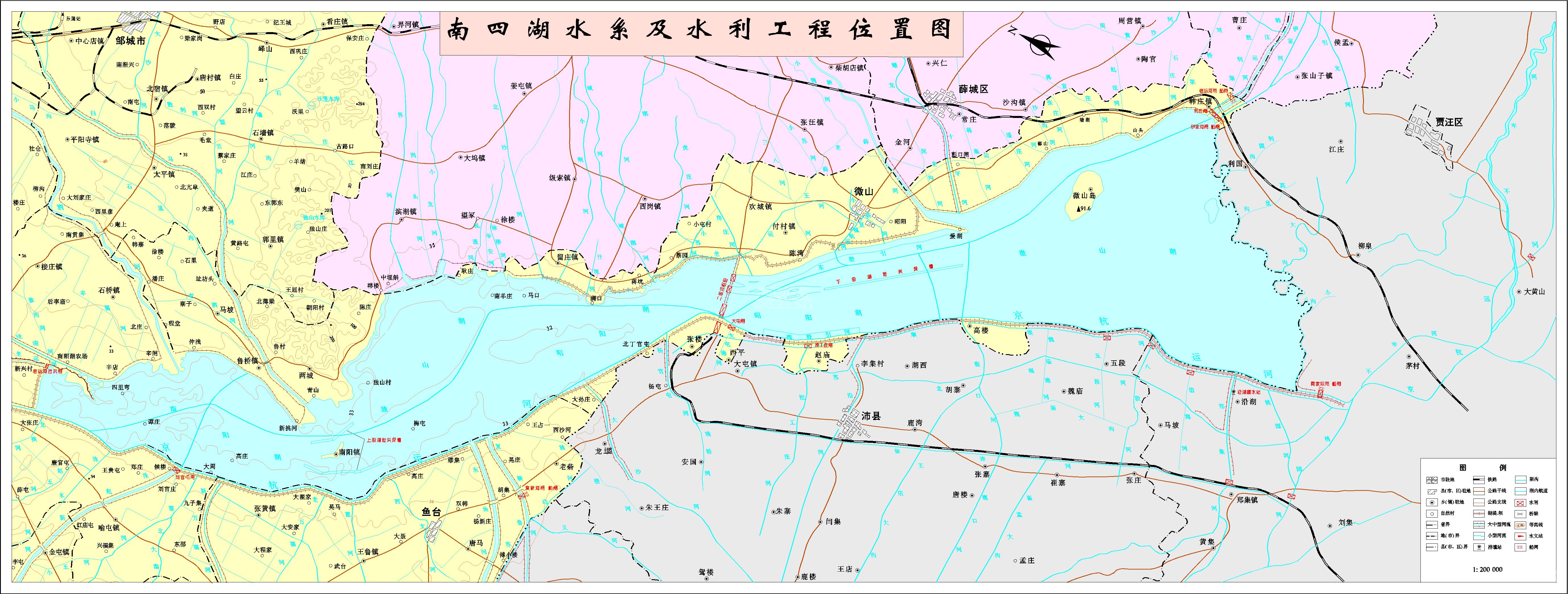 南四胡水系工程图.png