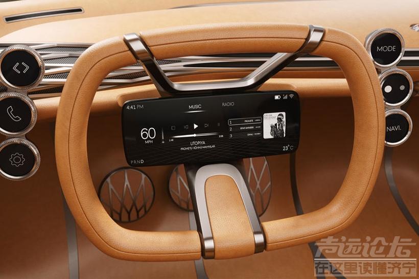 现代汽车新专利:在方向盘上安装显示屏 去除传统仪表盘-3.jpg