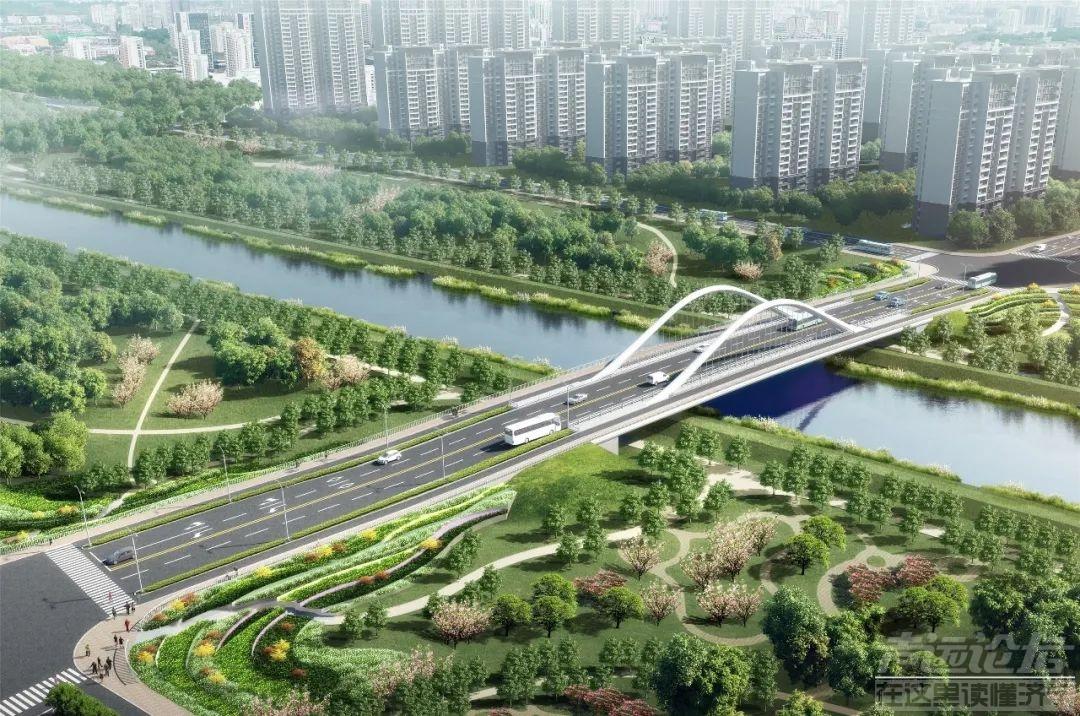 太白湖新区桥梁工程有新进展,渔皇路跨老运河桥下部施工基本完成钢箱梁预计11月开始...-1.jpg